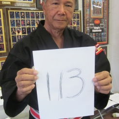 Grand Master Carlos Bunda