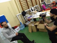 SiGung Bruno Rebelo spends time with ETRP