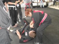 GM Janice throwing down Ken-Ka-Kung-fu