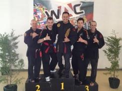 Martial Artis Joe Burns hanging loose with ETS