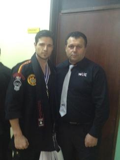 Sifu Lucas with SiGung Alcindo Henriques